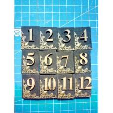 Набор мини книжечек-цифр №5